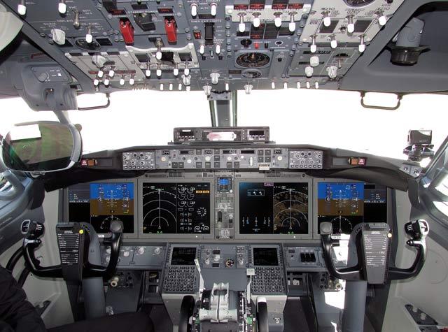 737 Max 8 cockpit