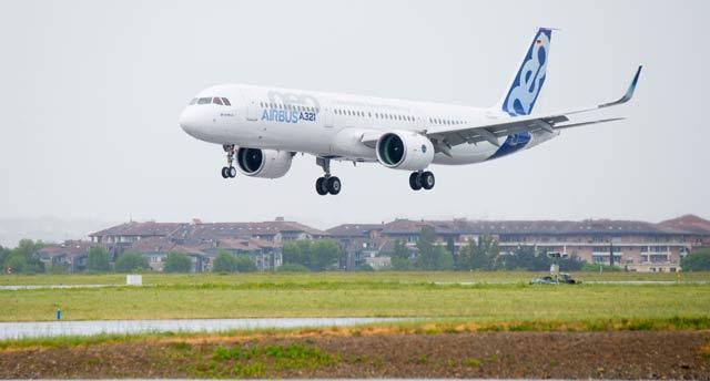 A321neo first flight