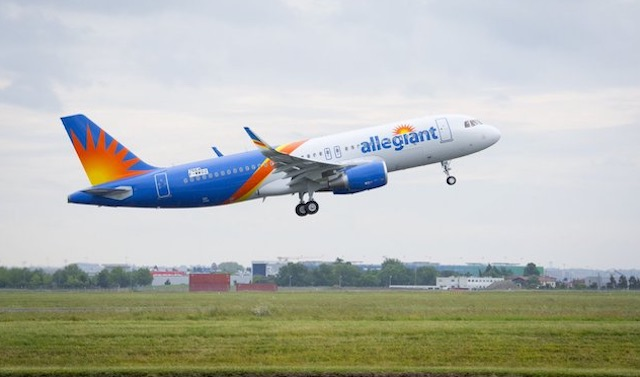 Allegiant first new A320