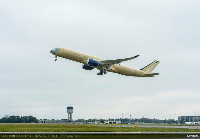 Delta A350 flight
