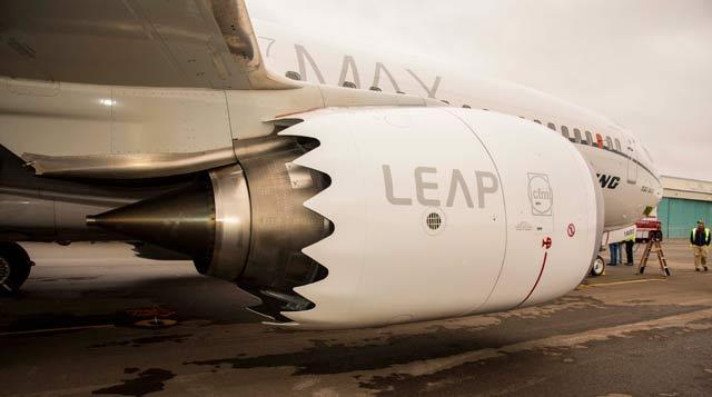 Leap 1-B engine on 737 Max 8