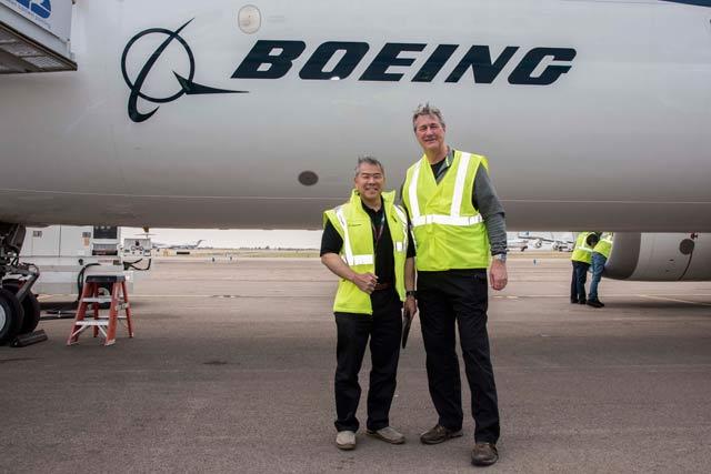 Paul Smith flight test 737 Max 8