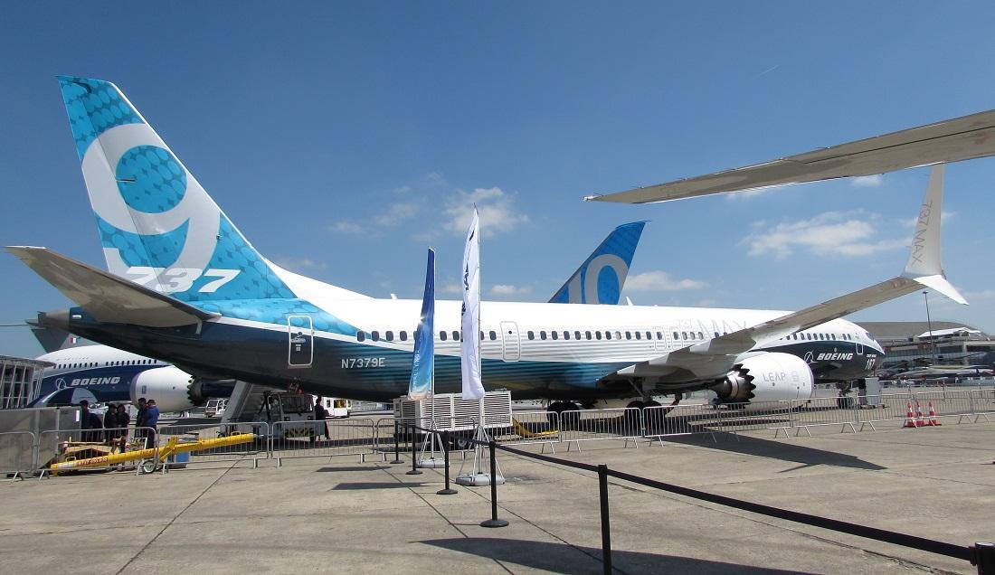 737 Max 9 max kj