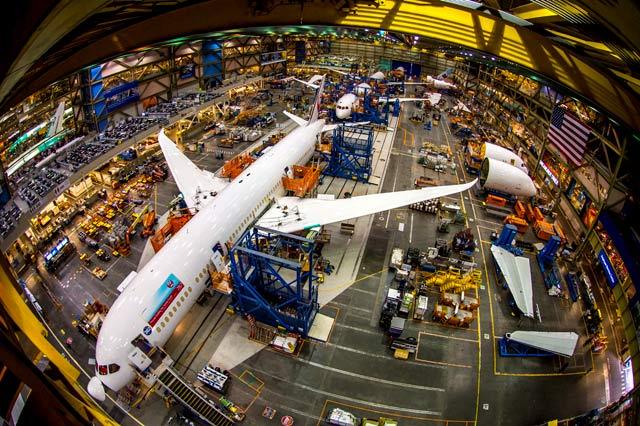 787 factory Everett