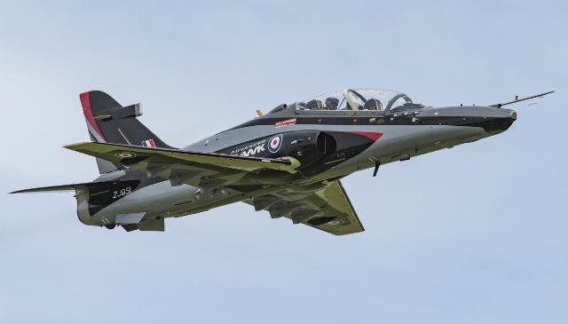 Advanced Hawk debut 1 - BAE Systems