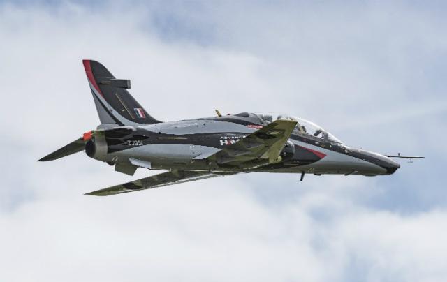 Advanced Hawk debut 2 - BAE Systems