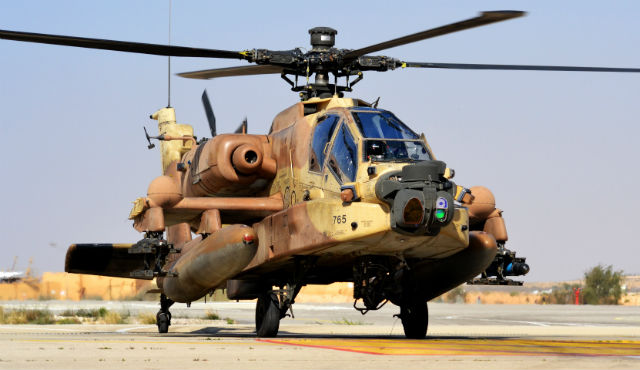 AH-64D - Israeli air force