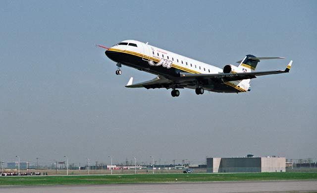 CRJ first flight