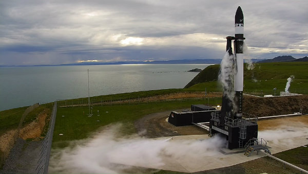 Electron first launch c Rocket Lab