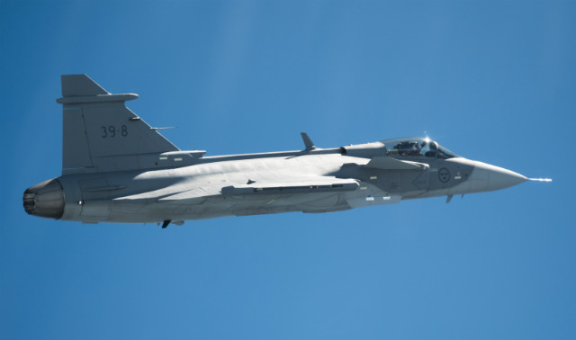 Gripen E debut - Saab