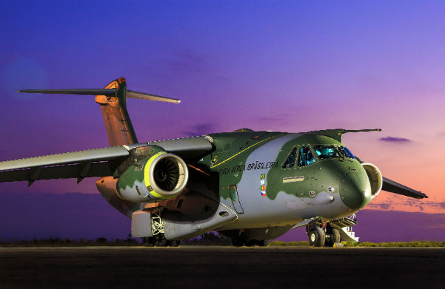 KC-390 - Brazilian air force