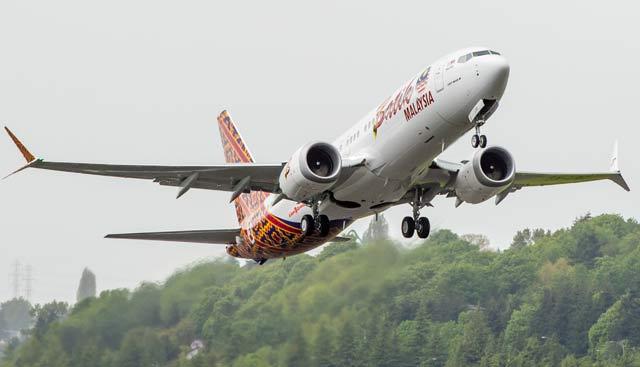 Malindo 737 Max delivery
