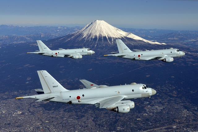 P-1s in Flight