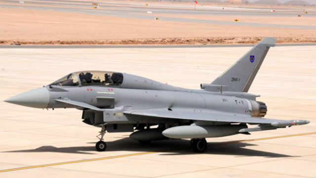Typhoon in Oman - BAE Systems