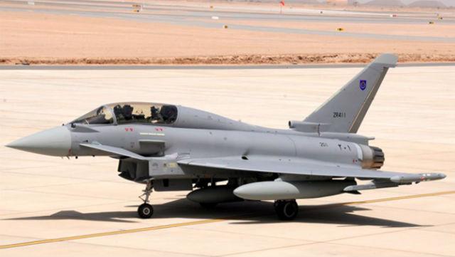 Typhoon in Oman - BAE Systems