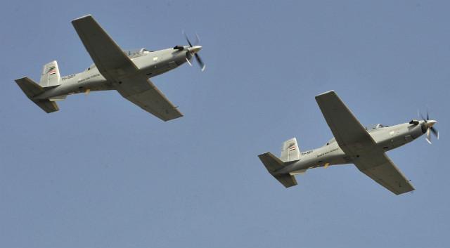 Iraq T-6A pair - US Air Force