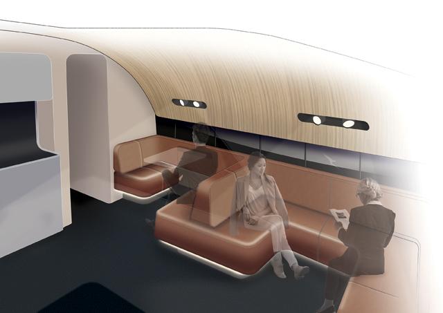 A380 upper deck Qantas
