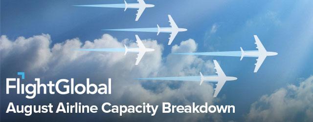Airline Capacity breakdown - August 2017