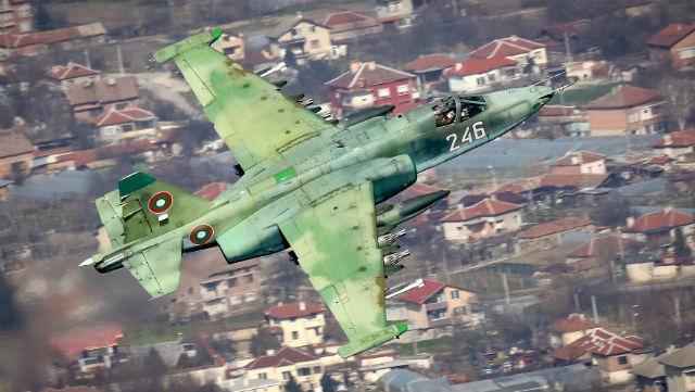 Bulgaria Su-25 - Alexander Mladenov