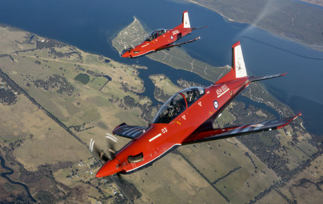 RAAF PC-21s - Commonwealth of Australia