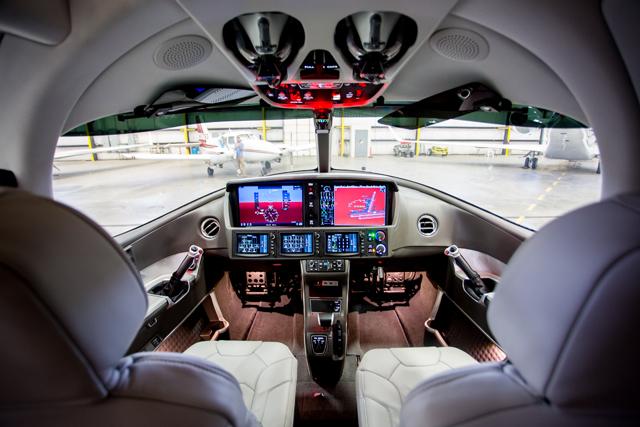 SF50 cockpit