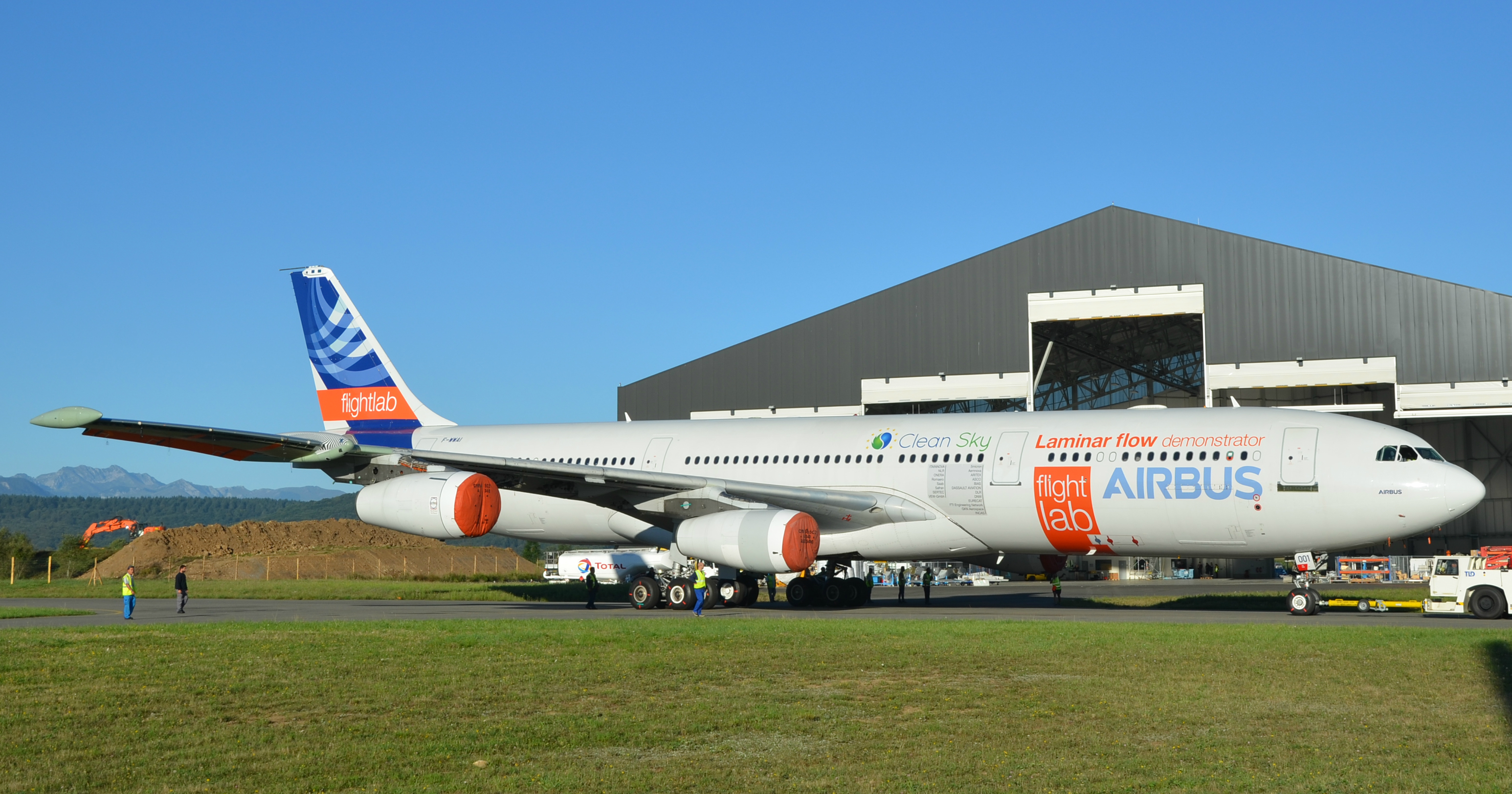 Airbus A340 BLADE test aircraft