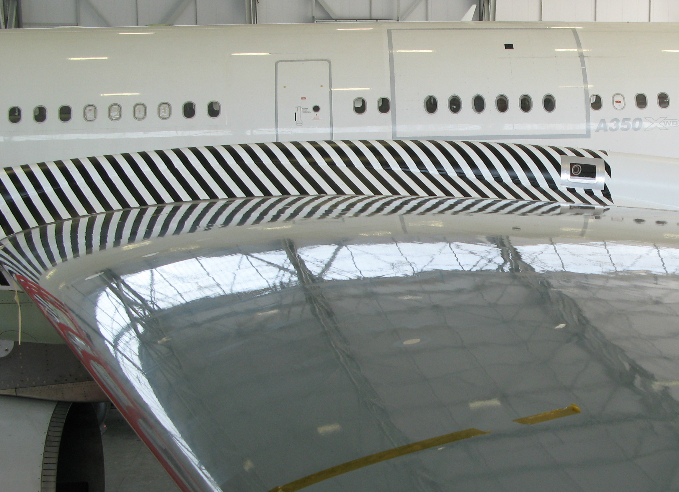 FlightGlobal A340 BLADE upper-wing surface