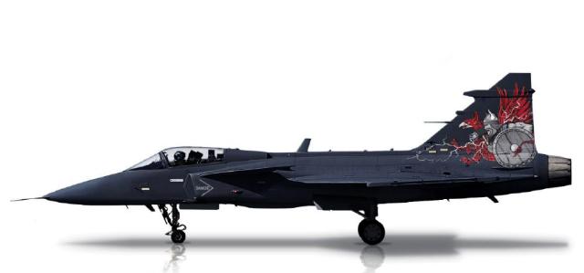 Gripen Aggressor - Saab