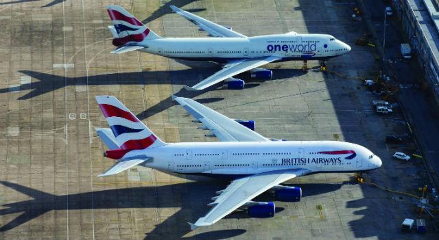 A380 747 - High Level/REX/Shutterstock