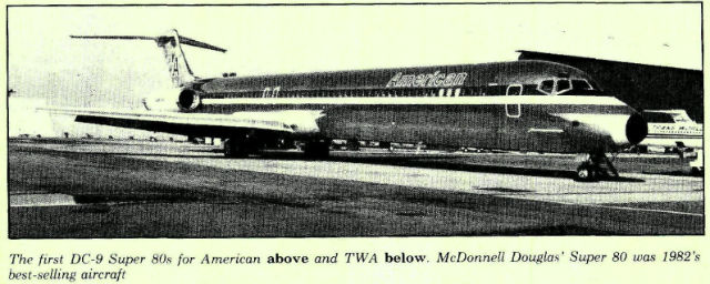 American first MD-80
