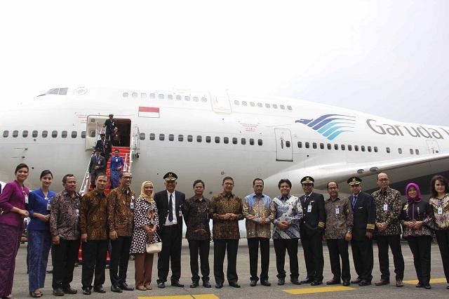 Garuda 747-400 retirement