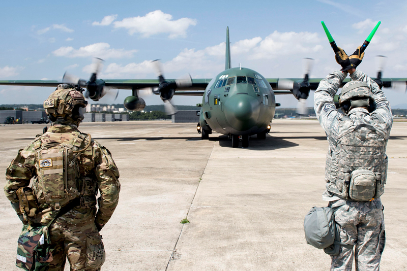 Korean air force C-130H