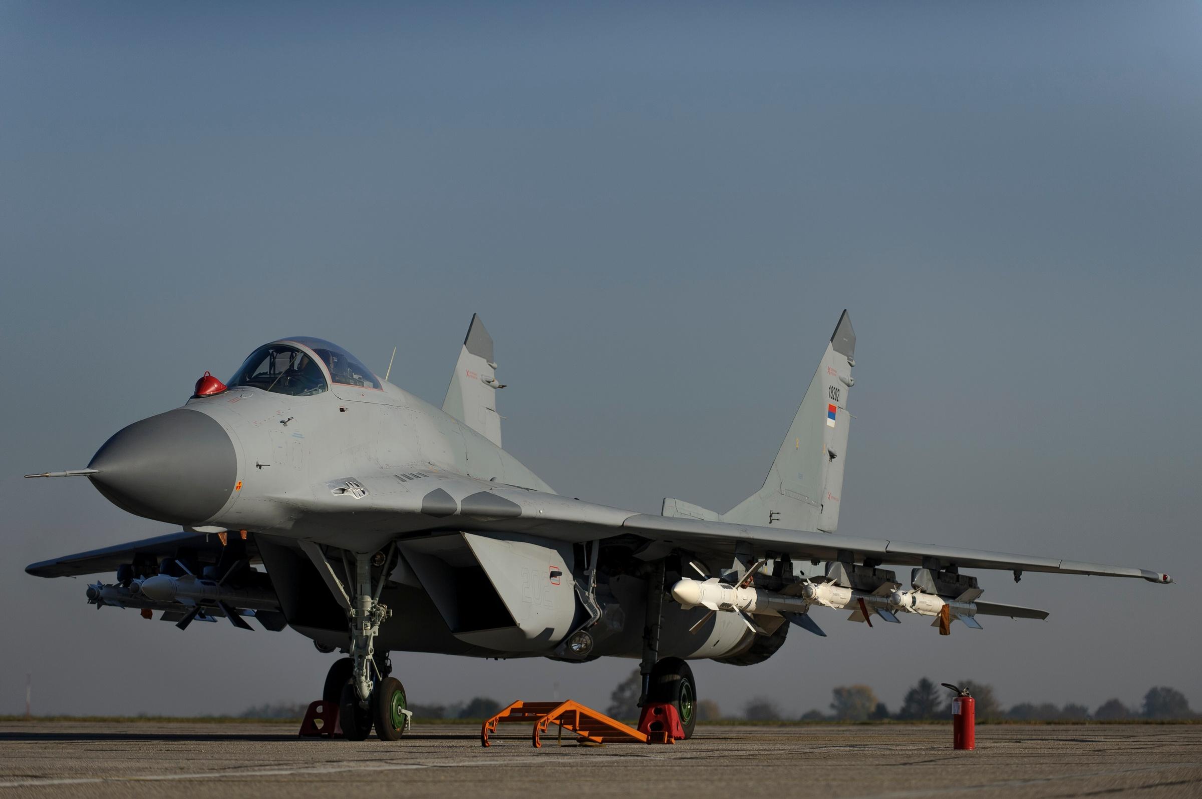 MiG-29 Serbia