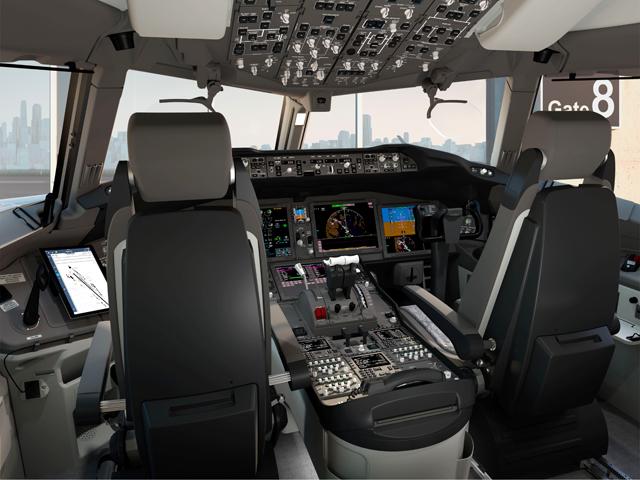777X flightdeck