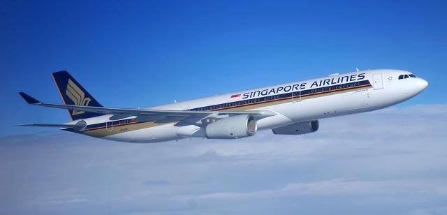 A330-3 SIA-640 airbus