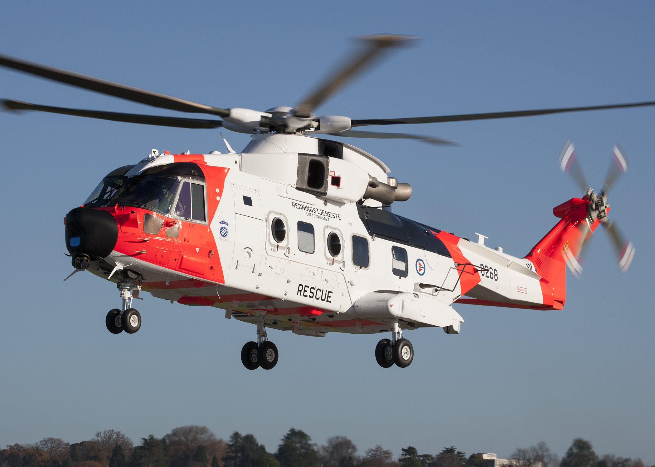 AW101 Norway delivery
