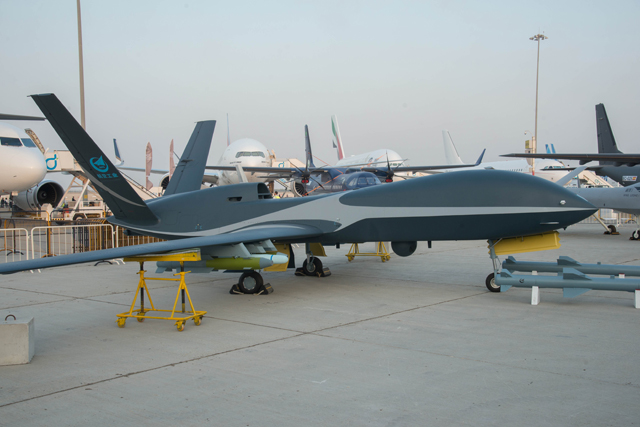 Cloud shadow on static at DAS17