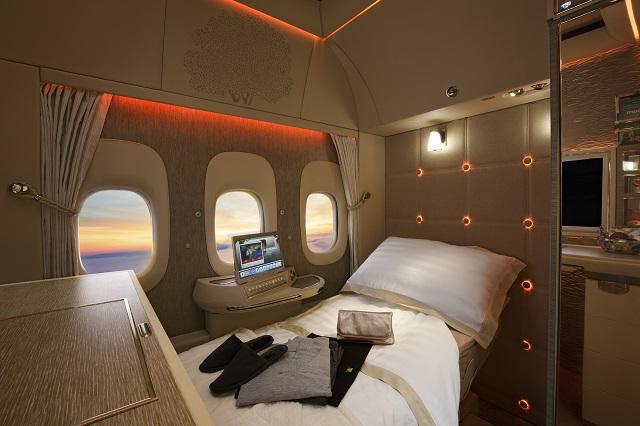 Emirates first class 777-300ER