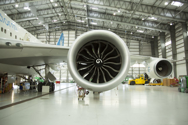 GE9X tested