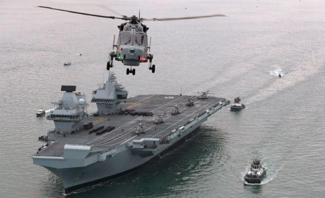 HMS Queen Elizabeth Wildcat - Crown Copyright