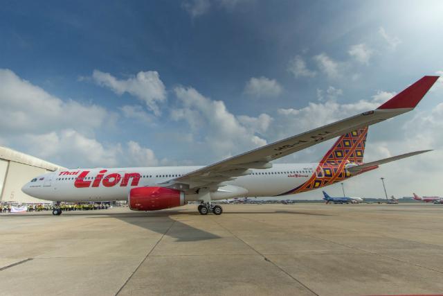 Thai Lion Air first A330