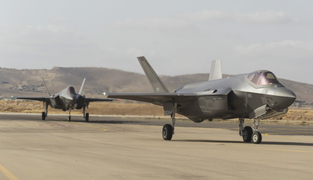 F-35I pair - Israeli air force