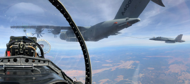 A400M refuelling - Airbus Defence & Space