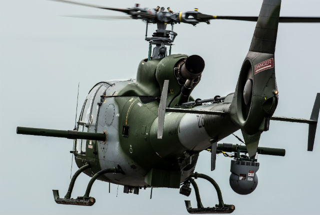 Army Air Corps Gazelle - AirTeamImages