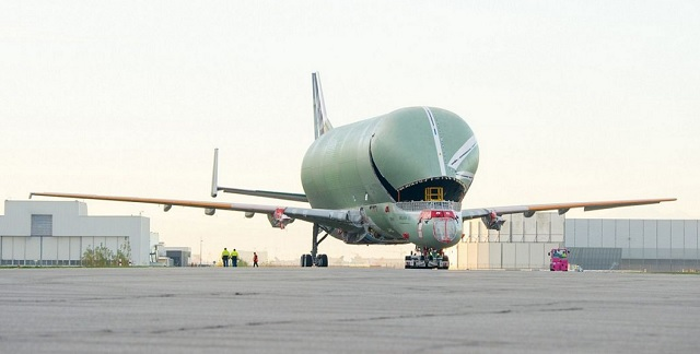 BelugaXL roll-out