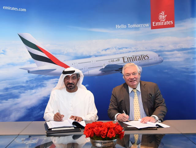 Emirates MoU 36 A380s