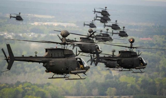 OH-58D Kiowas - US Army