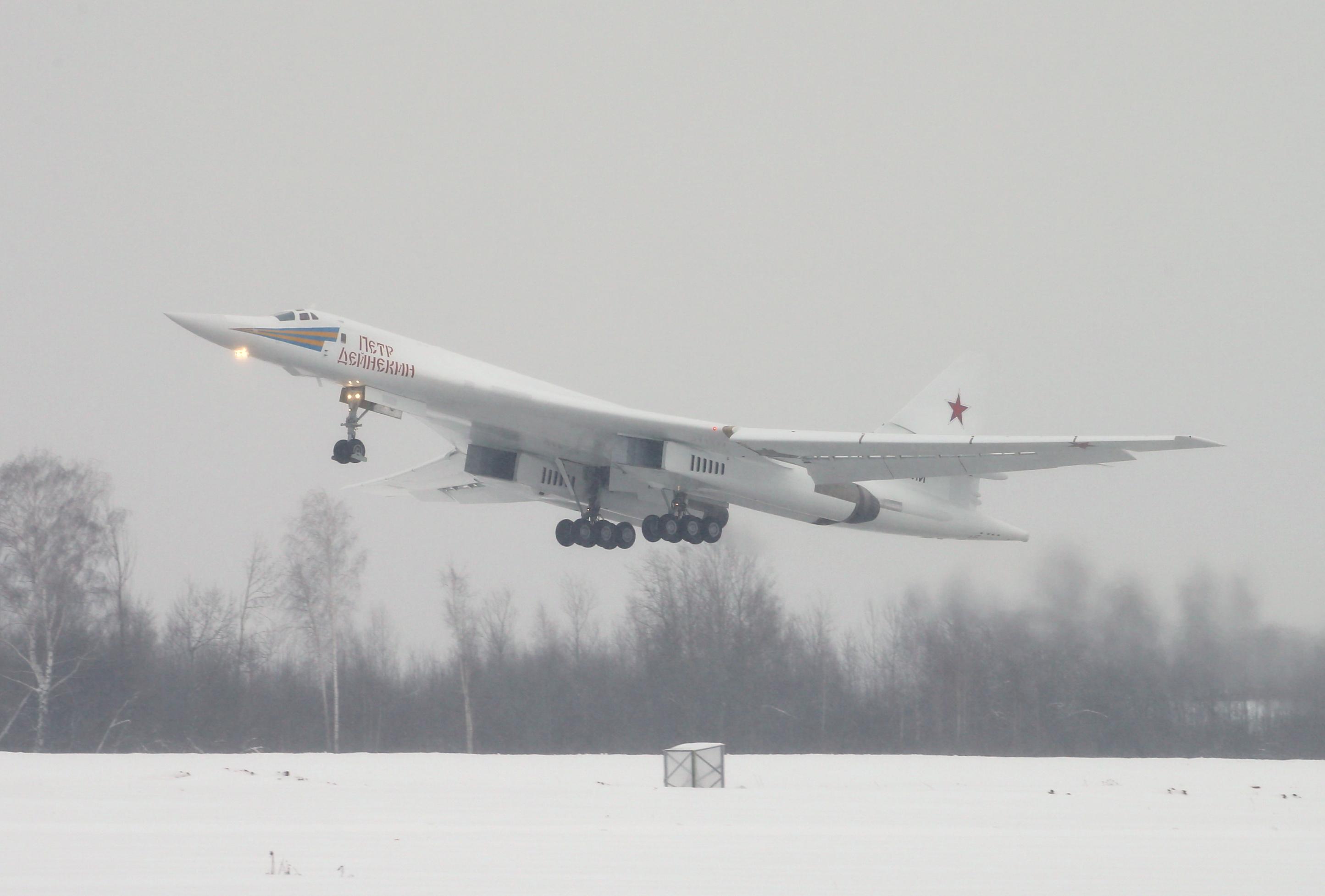 Tu-160 first flight