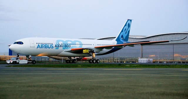 A330-800 painted full