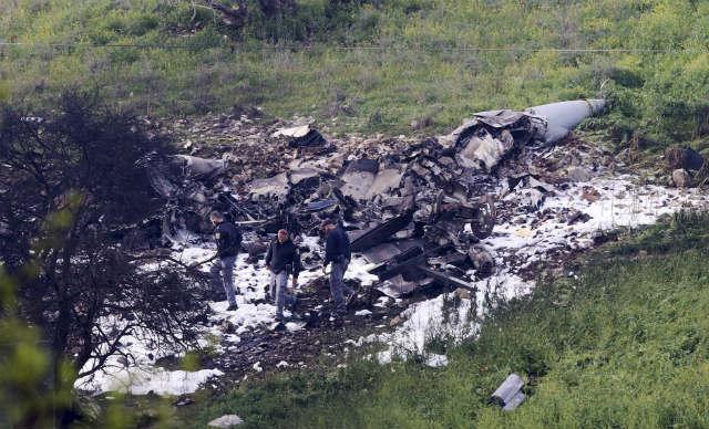 Crashed F-16I - pay AP